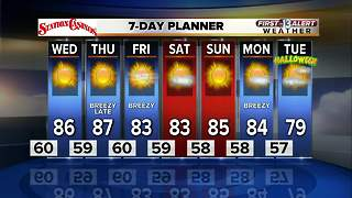 13 First Alert Weather for October 25 2017 - Video