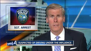 MPD Sergeant suspected of driving under the influence - Video