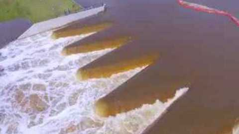 Aerial Footage Shows Destruction Caused by Hurricane Florence in North Carolina