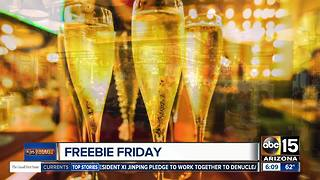 Freebie Friday: Food, fun and more - Video