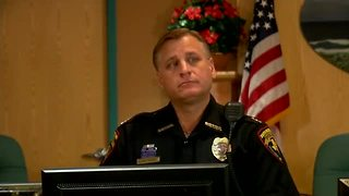 Press Conference; South Padre Island Police discuss arrest of Lois Riess