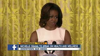 Michelle Obama to speak at San Diego conference
