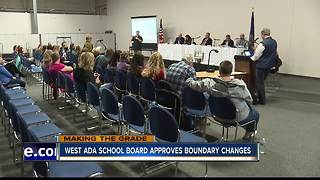 West Ada School Board approves school district boundary changes - Video