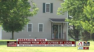 Gunman from just outside St. Louis - Video