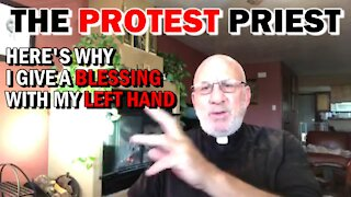 WHY I GIVE MY BLESSING WITH MY LEFT HAND | Fr. Imbarrato Live - Jan. 17th, 2021