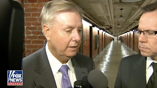 "Lindsey Graham Warns President Trump — ""Will Be Holy Hell To Pay"" if Mueller Is Dismissed - Video"
