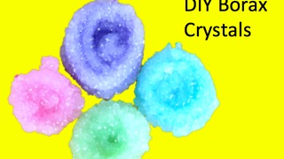 DIY Borax crystals - Video