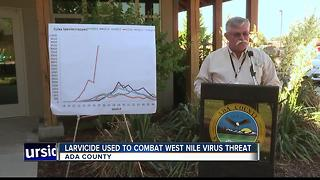 Ada County attacks growing mosquito threat from land and sky starting this week - Video