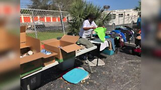 Multiple non-profit organizations help the homeless in Lake Worth Beach