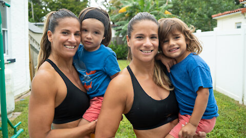 Identical Twins Work Their Abs Back Into Shape   MIAMI MUSCLE