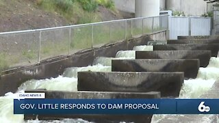 Gov. Little issues statement on Rep. Simpson's dam removal proposal