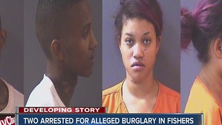 Two arrested after breaking into car delaership in Fishers - Video