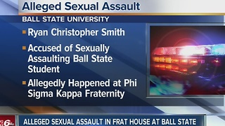 Woman assaulted at Ball State frat house, according to police - Video