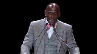 Donald Driver Packers' Hall of Fame speech - Video