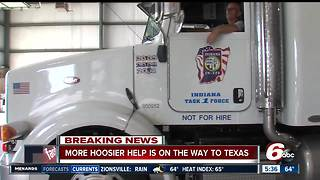 More Indiana Task Force 1 members deployed to Texas - Video