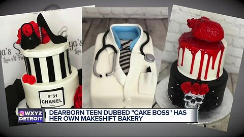 14-year-old cake mogul baking up success in Dearborn