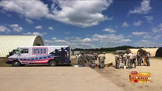 Sharing Coffee with USO Wisconsin - Video