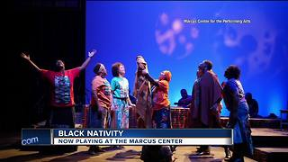 Black Nativity playing at Marcus Center - Video