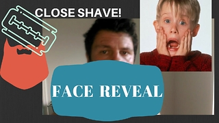 CLOSE SHAVE!-RumJar Face reveal  - Video