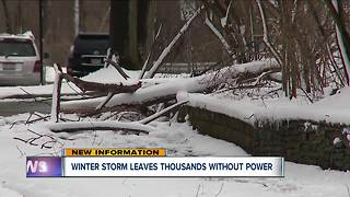 Tens of thousands still without power