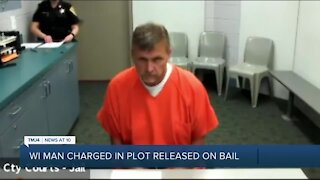 Wisconsin man charged in attempt to kidnap Michigan governor released on $10K bail