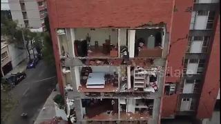 Spectacular drone footage shows effects of Mexico quake - Video