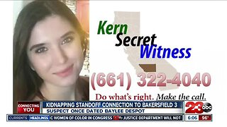 Kidnapping standoff suspect connected to Bakersfield 3