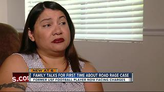 EXCLUSIVE: Victim of alleged road rage case involving former USF Player Hassan Childs speaks - Video