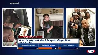 What did you think about this year's Super Bowl commercials? - Video