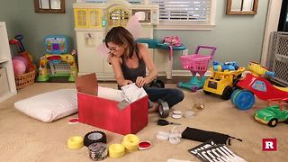 Diaper box drive-in movie cars with Elissa the Mom | Rare Life - Video