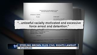 Milwaukee Bucks player Sterling Brown sues Milwaukee over stun-gun arrest