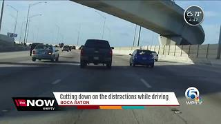 Reducing driving distractions - Video