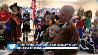 Military dad surprises daughters in emotional homecoming reunion