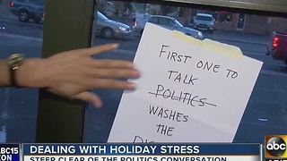 How to deal with holiday stress - Video