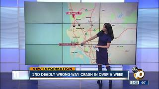 2nd deadly wrong-way crash in over a week - Video