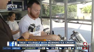 Frozen Chosen liquid nitrogen ice cream truck 8:45 A.M. - Video