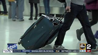 BWI releases plan to cut traffic in terminals during holiday travel - Video