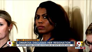 Omarosa discusses her resignation - Video