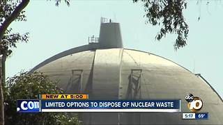Limited options to dispose of San Onofre nuclear waste - Video