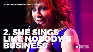 Five reasons Reba McEntire rules | Rare Country - Video