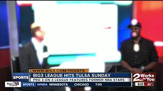 Big3 League comes to Tulsa's BOK Center - Video