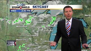 4th of July forecast with fireworks shows - Video