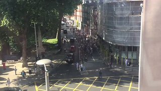 Grenfell Tower Protesters March on Kensington Town Hall - Video