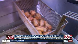 Second annual Bakersfield Wing Fest - Video