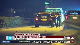 Father and son shot in Dunbar overnight, son dies - Video