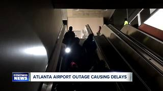 Power restored at Atlanta airport - Video