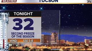 Chief Meteorologist Erin Christiansen's KGUN 9 Forecast Wednesday, November 30, 2016 - Video