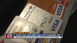 Police warn of criminals cloning credit cards using stolen information - Video