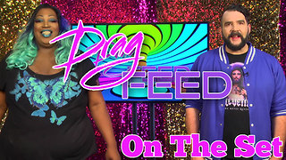 "Jonny McGovern & Lady Red Couture ""On The Set"" on Drag Feed  - Video"
