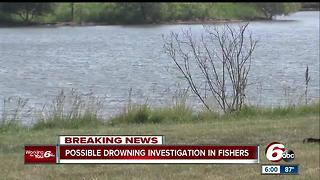 Crews search for man who disappeared while paddle boarding at Saxony Beach in Fishers - Video